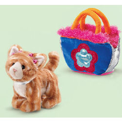 Brown Tiger Cat Pet Purse