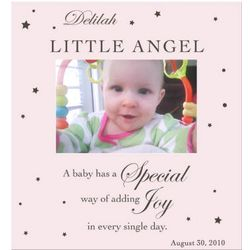 Pink Little Angel Photo Frame