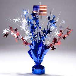 Patriotic American Flag Centerpiece