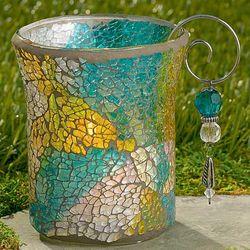 Mosaic Tea Light Candleholder