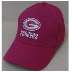 Green Bay Packers Preschool Pink Logo Baseball Cap