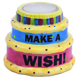 Make a Wish Birthday Cake Tea Light Holder