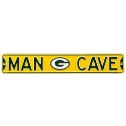 Green Bay Packers Man Cave Street Sign