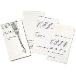Famous Father Parent Letter Napkins