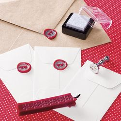 Heart and Seal Wax Stamper Kit