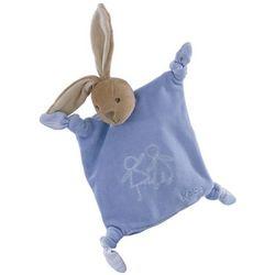 Blue Velour Doudou Bunny