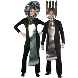 Fork and Spoon Adult Costume Set