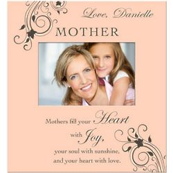 Personalized Mothers Fill Your Heart with Joy Frame