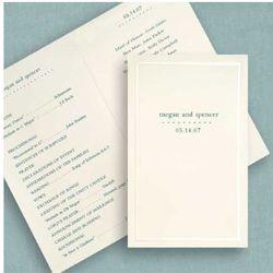 Half Fold Ivory Pearl Programs