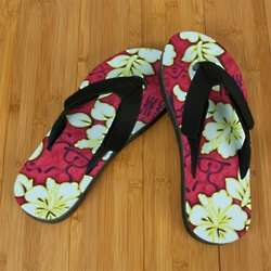 Red Hawaiian Luau Pro Fit Sandal