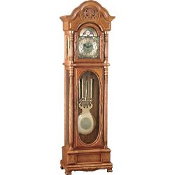 Amherst Grandfather Clock with Moon Dial