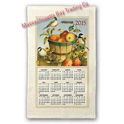 2015 Apples Calendar Towel