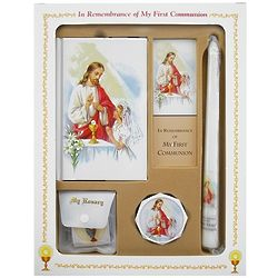 Holy Communion Deluxe Boxed Set for Girls