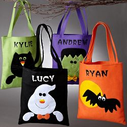Personalized Halloween Friend Tote Bag