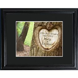 Personalized Endless Love Anniversary Framed Print