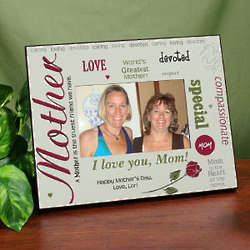 Personalized World's Greatest Mother Printed Frame