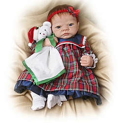 Life-Size Merry Christmas Realistic Emily Doll