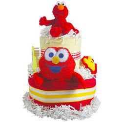 Seasame Street 2-Tiered Elmo Diaper Cake