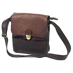 Large Two Tone Man Bag