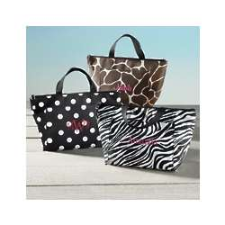 Playful Print Lunch Tote