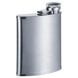 Engravable Side Spout Stainless Steel Flask
