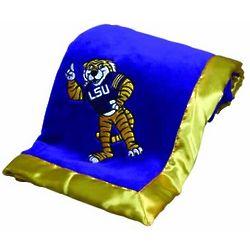Louisiana State University Baby Blanket