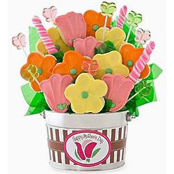 Mother's Day Cookie and Candy Bouquet