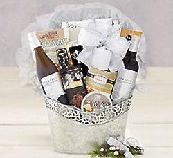 Sterling Vintner's Wine Gift Basket