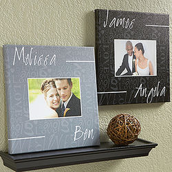 Personalized Couple In Love Photo Canvas Art