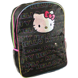 Hello Kitty Rainbow Stitch Backpack
