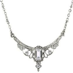 Downton Abbey Crystal Statement Necklace