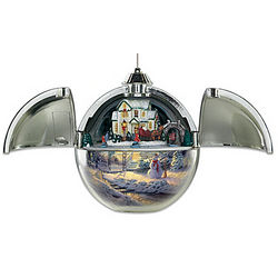 Family Gathering Musical Motion Ornament
