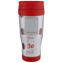 You Go Girl! Mirror Red Tumbler