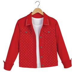 Crystal-Studded Jacket