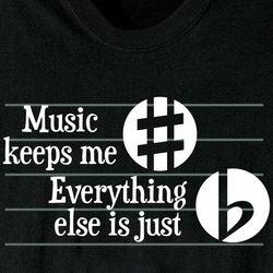 Music Keeps Me T-Shirt