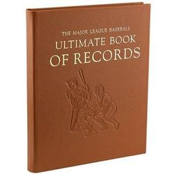 Leather Bound Major League Baseball Ultimate Book of Records