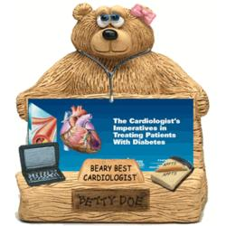 Personalized Business Card Holder for Cardiologist