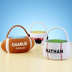 Personalized Sports Easter Basket