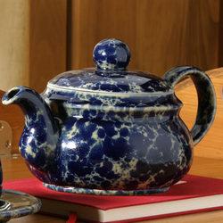 Handmade Stoneware Personal Teapot