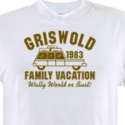 Griswold Family Vacation Wally World or Bust T-Shirt