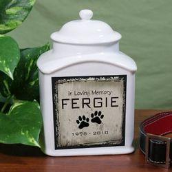 Personalized Ceramic Pet Urn