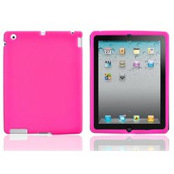 Apple iPad 2 Hot Pink Silicone Case