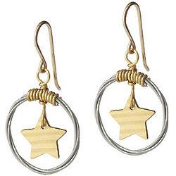 Star Cymbal Earrings