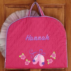 Personalized Ballet Quilted Garment Bag