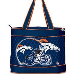 NFL Denver Broncos Quilted Tote Bag