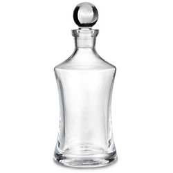 Vintage Hourglass Decanter