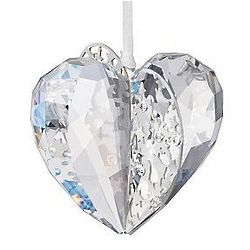 Swarovski Crystal Moonlight 2012 Heart Ornament