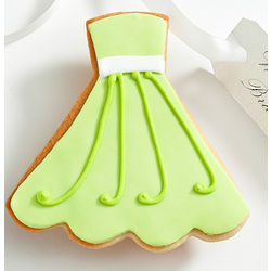 Will You Be My? Edible Katie Dress Cookie Card