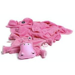 Hada the Hippo Blanket and Pillow