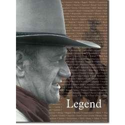 Legendary Tin John Wayne Sign
